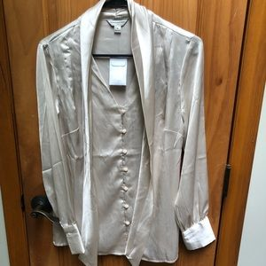 NWT banana republic silk blouse